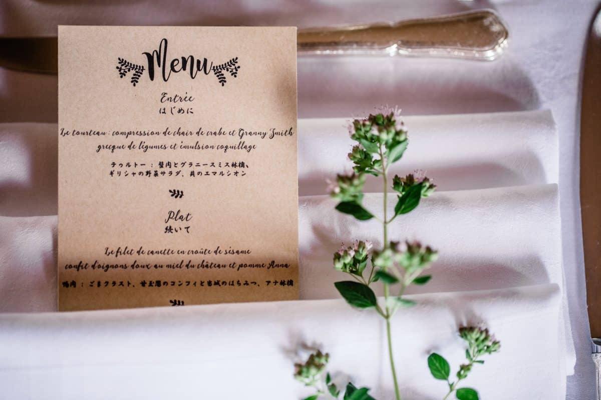 5 astuces pour bien choisir son menu de mariage